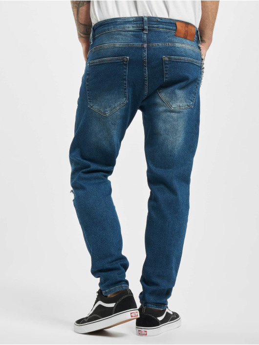 2Y Slim Fit -farkut Cody sininen
