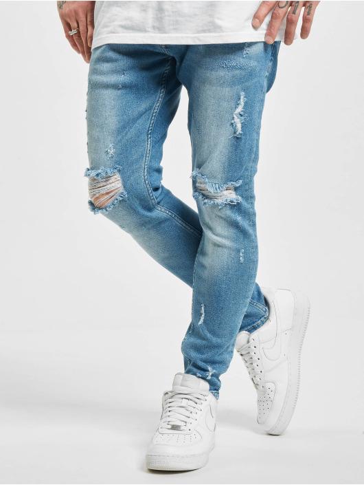 2Y Slim Fit -farkut Melo sininen