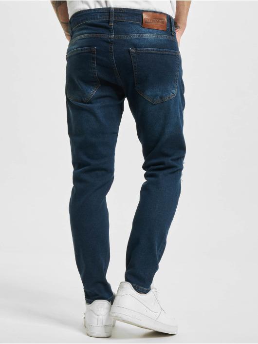 2Y Slim Fit -farkut Mela sininen