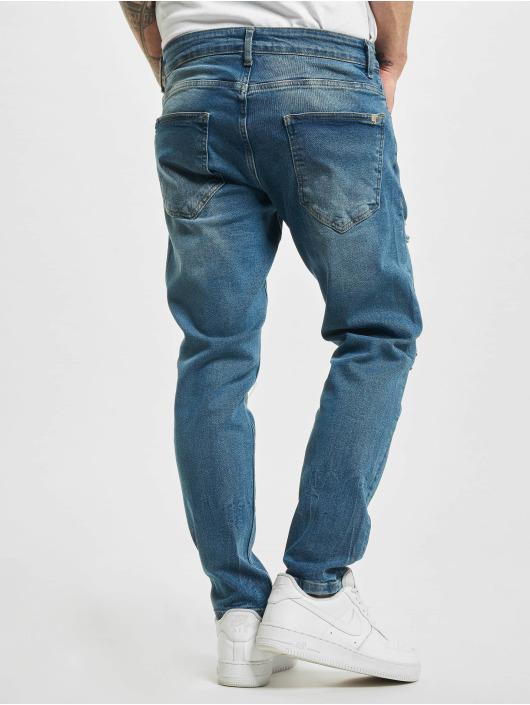 2Y Slim Fit -farkut Ensar sininen