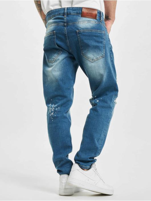 2Y Slim Fit -farkut Kerrem sininen