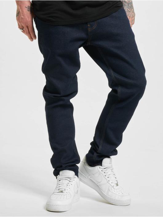 2Y Slim Fit -farkut Dogan sininen