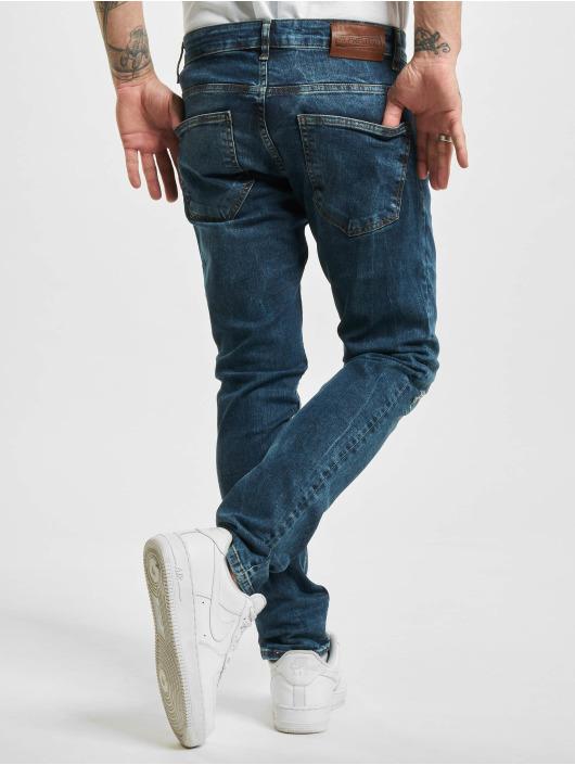 2Y Slim Fit -farkut Fatih sininen