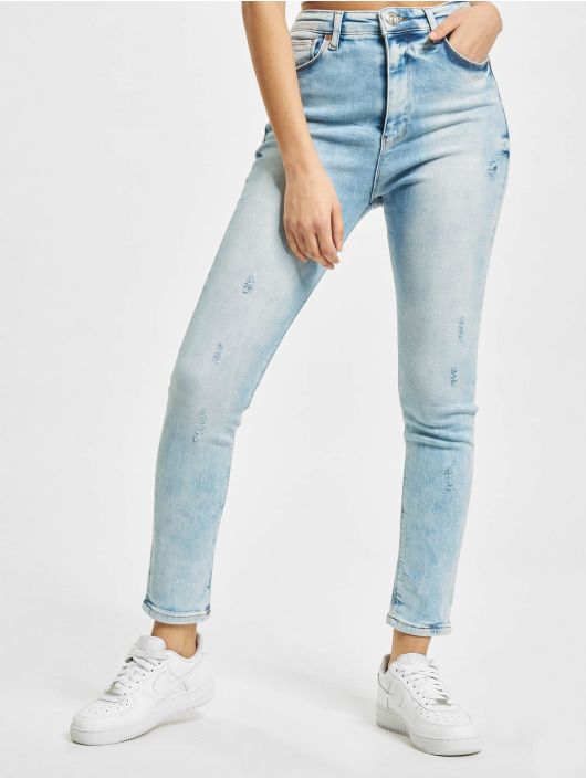 2Y Slim Fit -farkut Dania sininen