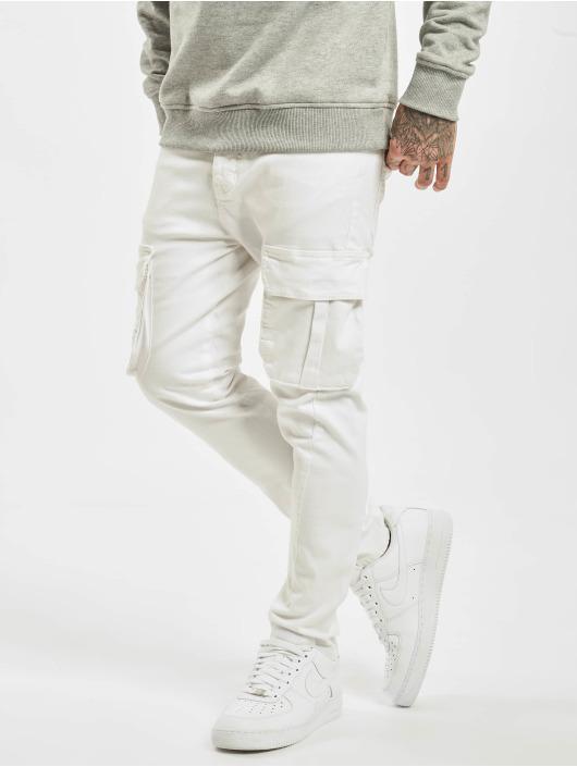 2Y Slim Fit -farkut Emilio valkoinen