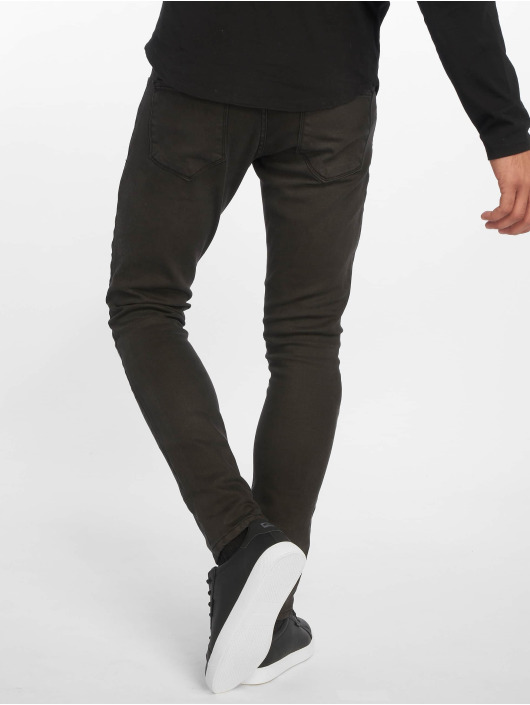 2Y Slim Fit Jeans Terry èierna