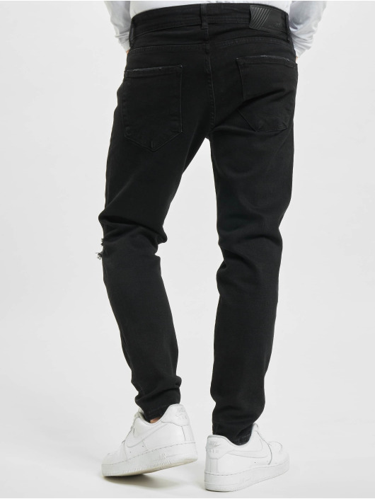 2Y Slim Fit Jeans Levin èierna