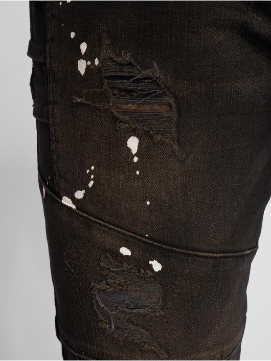 2Y Slim Fit Jeans Aleo čern