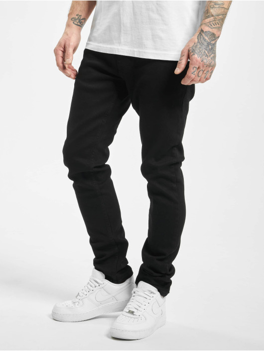 2Y Slim Fit Jeans Colin čern