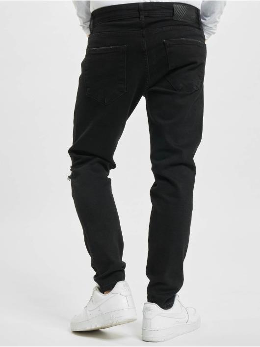 2Y Slim Fit Jeans Levin čern