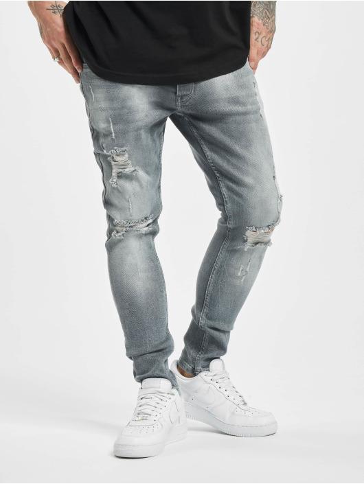 2Y Slim Fit Jeans Stan šedá