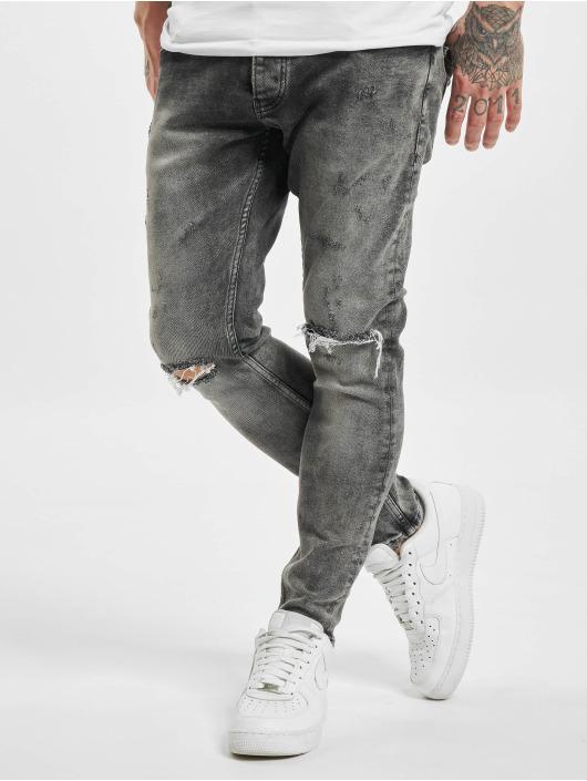 2Y Slim Fit Jeans Joscha šedá