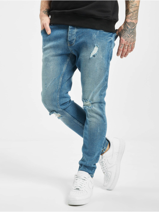 2Y Slim Fit Jeans Berk синий