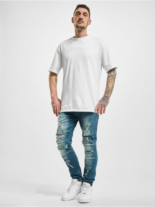 2Y Slim Fit Jeans Elkin синий