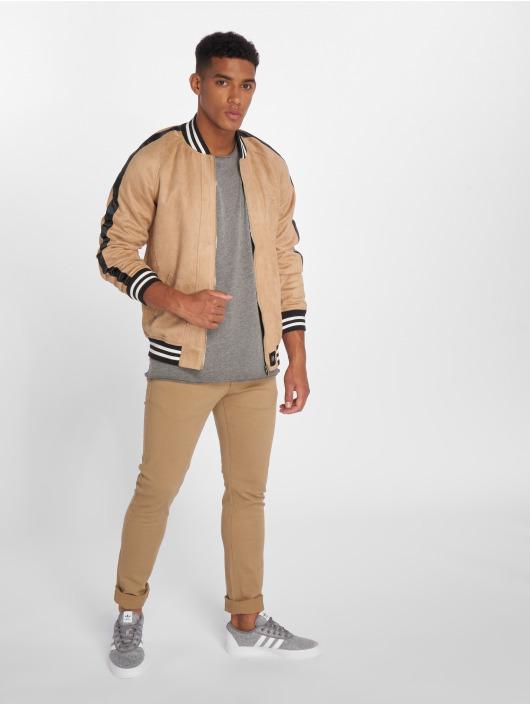 2Y Slim Fit Jeans ClassicoDark béžová