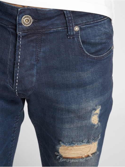 2Y Slim Fit Jeans Tay blå