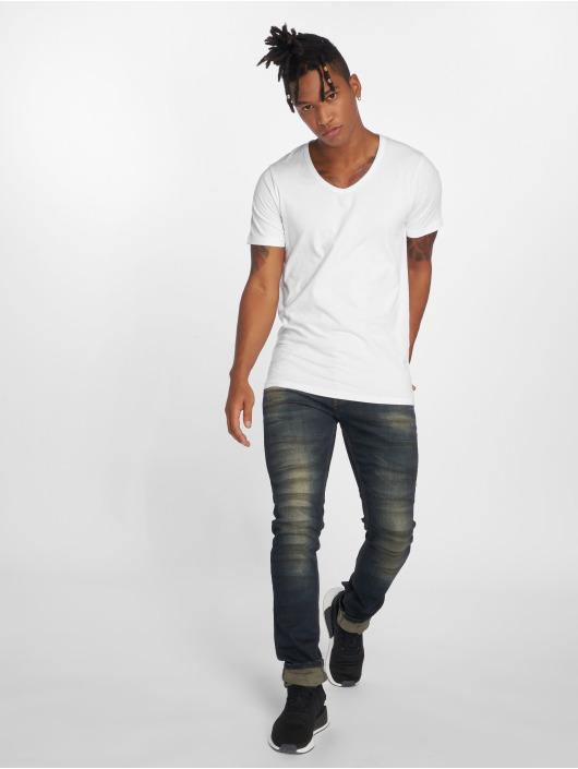 2Y Slim Fit Jeans Aiven blå