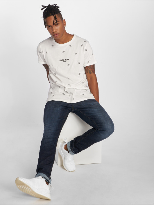 2Y Slim Fit Jeans Corrdo blå