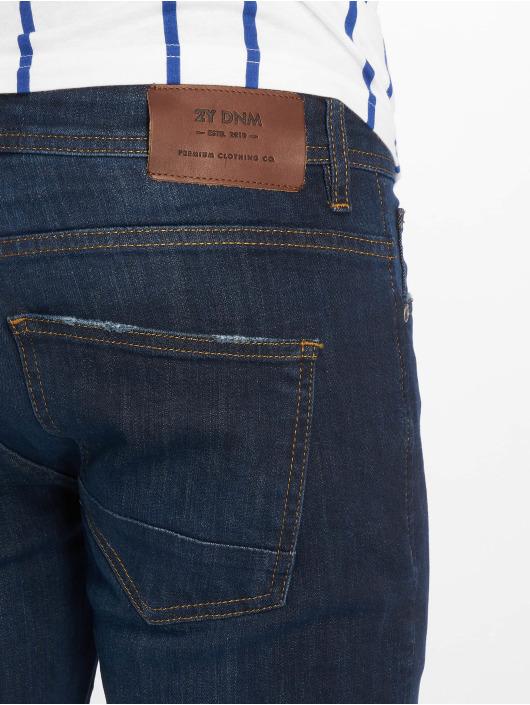 2Y Slim Fit Jeans Spencer blå