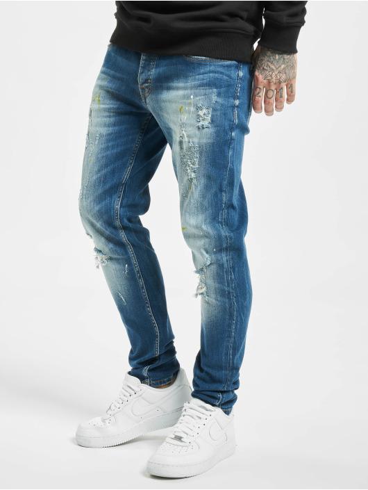 2Y Slim Fit Jeans Okan blå