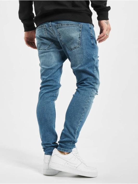 2Y Slim Fit Jeans Aslan blå