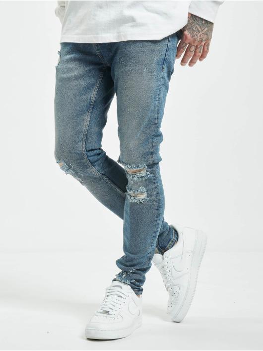 2Y Slim Fit Jeans Gunesh blå