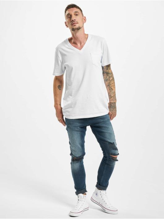 2Y Slim Fit Jeans Asil blå
