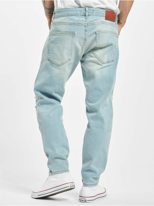 2Y Slim Fit Jeans Bulut blå