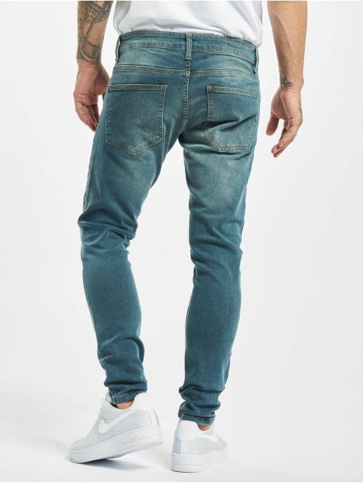 2Y Slim Fit Jeans Davut blå