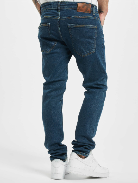 2Y Slim Fit Jeans Otto blå