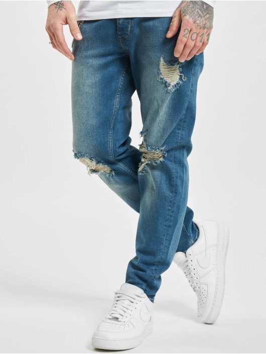 2Y Slim Fit Jeans Claas blå