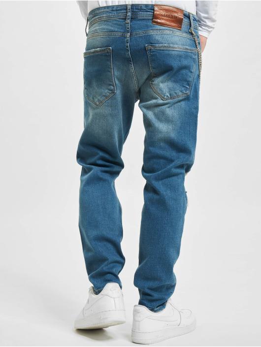 2Y Slim Fit Jeans Claas blå