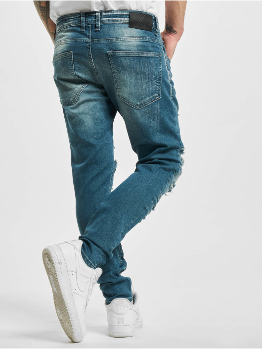 2Y Slim Fit Jeans Elkin blå