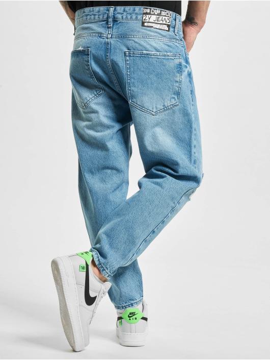 2Y Slim Fit Jeans Ayhan blå