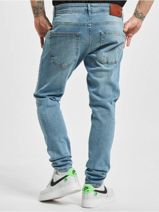 2Y Slim Fit Jeans Murat blå