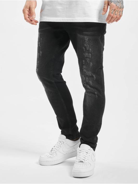 2Y Slim Fit Jeans Aaron black