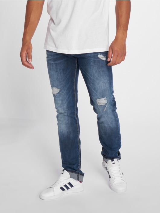 2Y Slim Fit Jeans Used blau