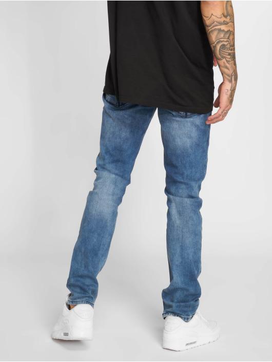 2Y Slim Fit Jeans Stone Washed blau