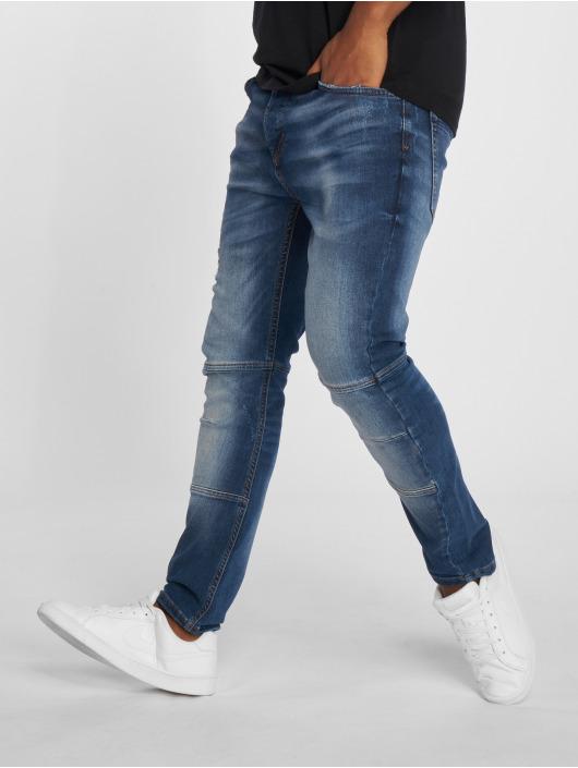 2Y Slim Fit Jeans Leoman blau
