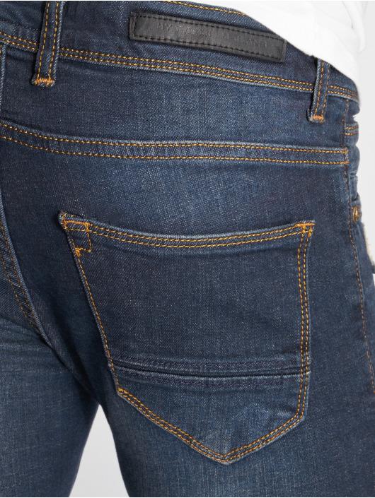 2Y Slim Fit Jeans Destroyed blau