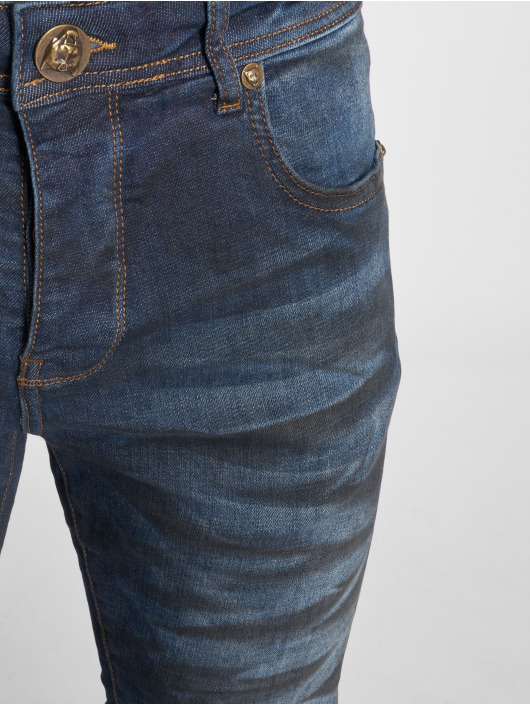 2Y Slim Fit Jeans Dirt blau
