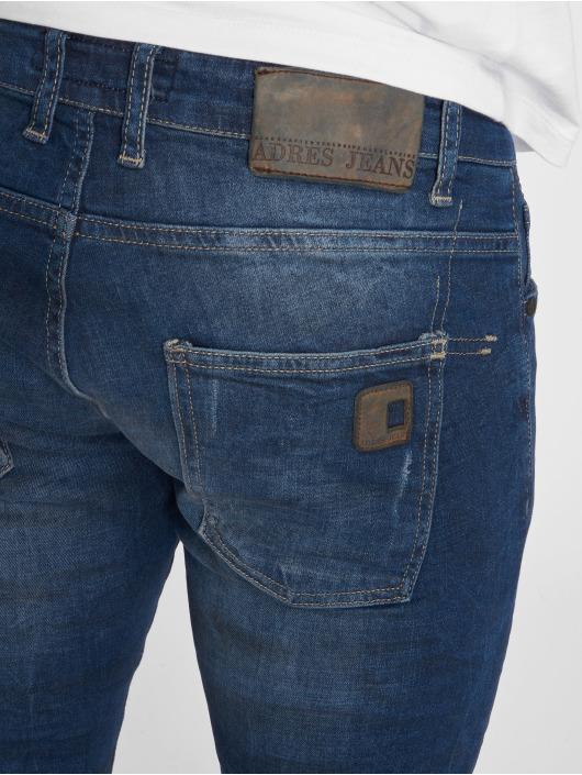 2Y Slim Fit Jeans Duarte blau