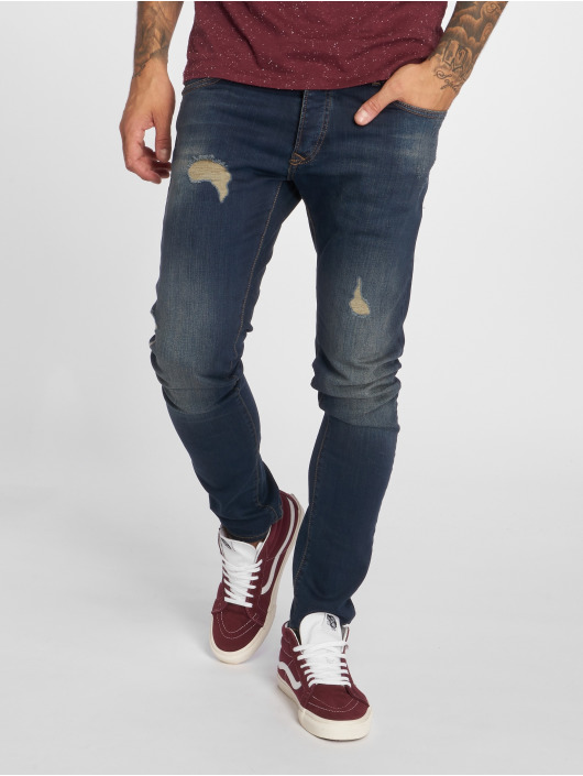2Y Slim Fit Jeans Lion blau