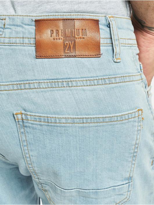 2Y Slim Fit Jeans Norman blau