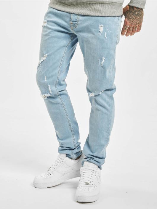 2Y Slim Fit Jeans Tom blau