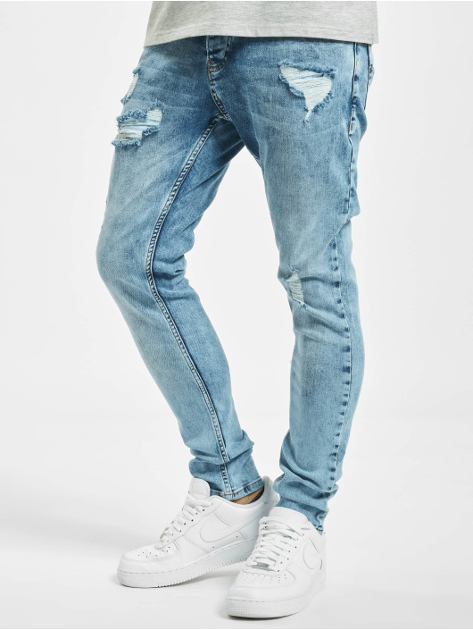 2Y Slim Fit Jeans Umay blau