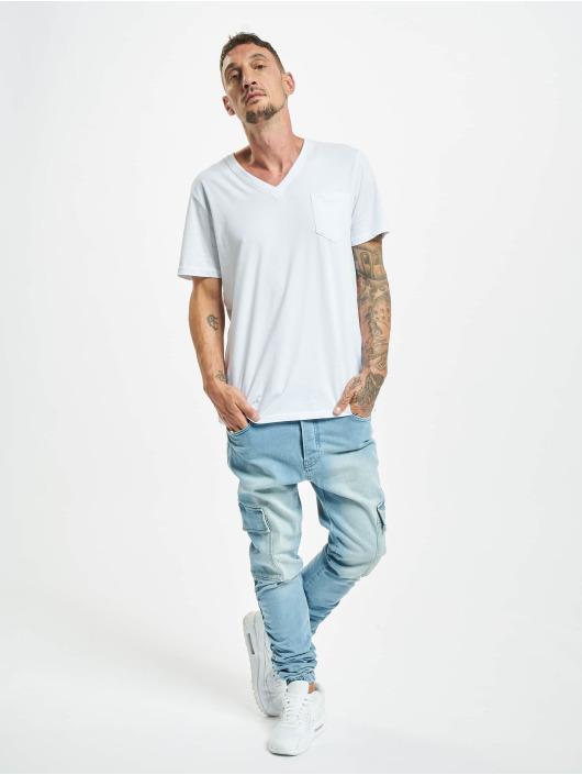 2Y Slim Fit Jeans Cavit blau