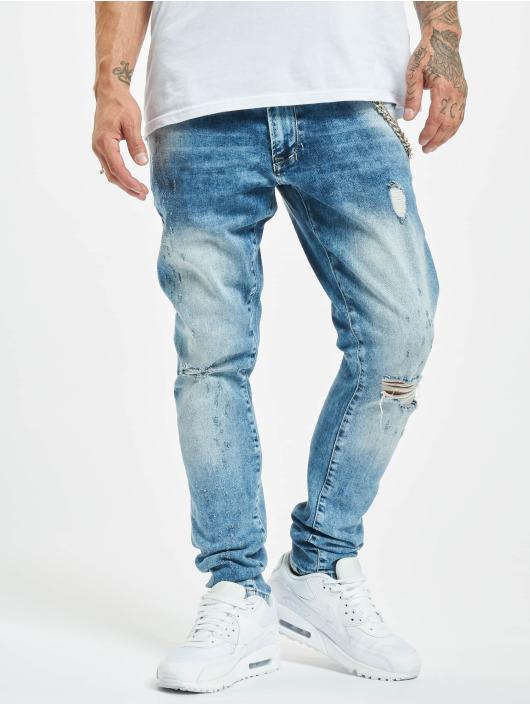 2Y Slim Fit Jeans Demir blau