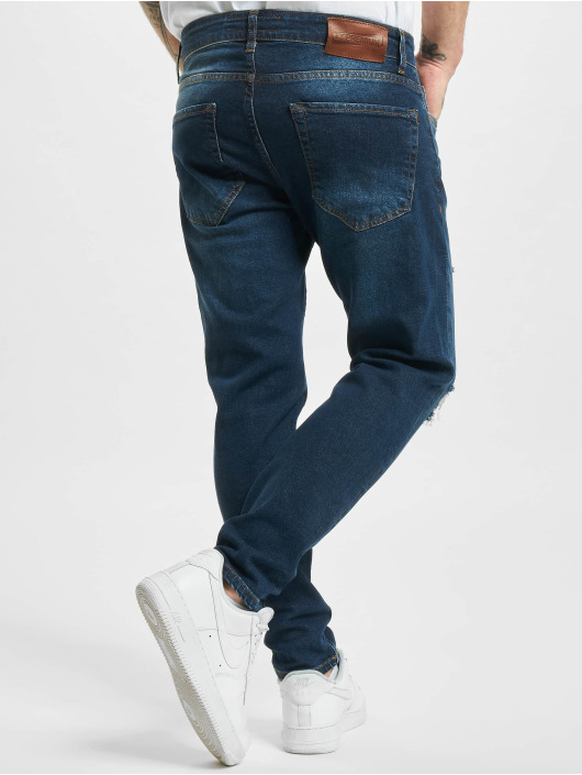 2Y Slim Fit Jeans Peoria blau