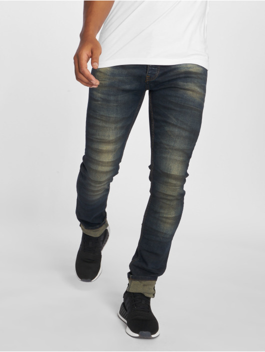 2Y Slim Fit Jeans Aiven blauw